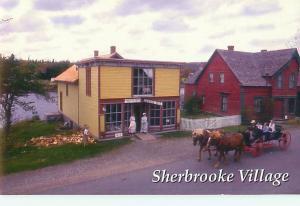 Nova Scotia Sherbrooke Village Gen Store Ambrotype Studio Museum Postcard # 6124