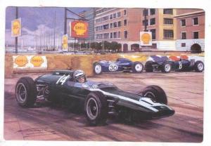 Racing postcard by Artist Michael TURNER, 1995 ; #2