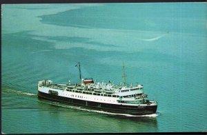 PEI Passenger Ferry Boat M.V.S. ABEGWEIT Cape Tormentine N.B. Borden - pm1964 C