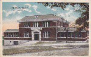 ST. PAUL, Minnesota, PU-1911; Live Stock Pavilion, University Farm