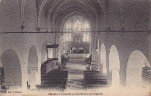 Interieur De l'Eglise, Charly (Aisne), France, 1900-1910s
