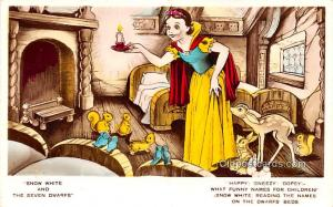 Snow White and the Seven Dwarts Walt Disney Unused