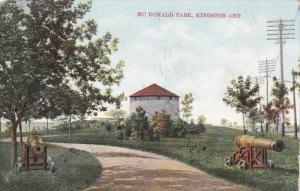 KINGSTON, Ontario, Canada; Mc Donald Park, Cannons, PU-1909