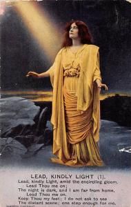 Hymn: Lead, Kindly Light (1) amid the encircling gloom, Lead Thou me on