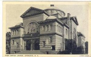 First Baptist Church, Charlotte, North Carolina, PU-00-10s