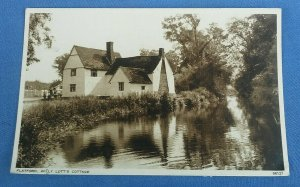 Vintage Postcard Flatford Willy Lotts Cottage Suffolk  Postmarked 1954 B1D