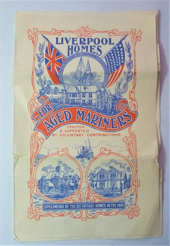 1909 Liverpool Homes For Aged Mariners Pamphlet
