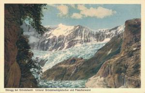 Switzerland Berg bei Grindelwald Unterer Grindelwaldgletscher und Fiescher 02.99