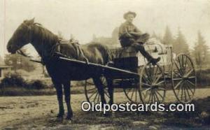 Portland Oregon? Horse Drawn Postcard Post Card Old Vintage Antique  Portland...