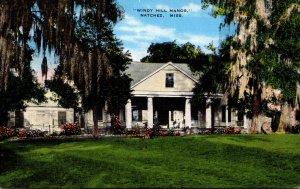 Mississippi Natchez Windy Hill Manor