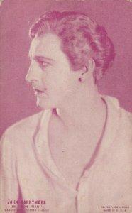 Actor JOHN BARRYMORE, 1920-30s;  In Don Juan