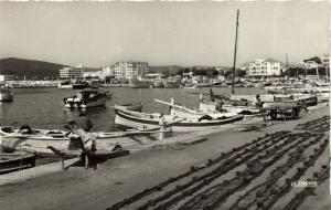 CPA Le Lavandou - Le Port (106517)