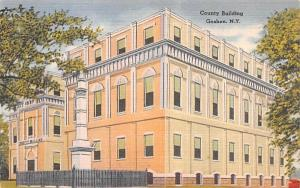 County Building Goshen, New York Postcard
