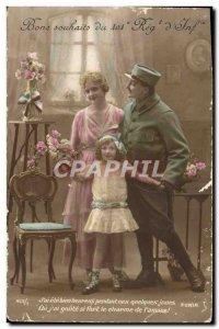Old Postcard Fantaisie Bonne Fete