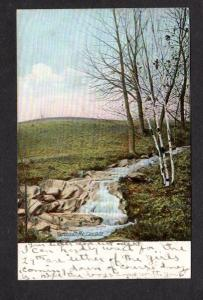 ME Cascade Falls Yarmouth Maine Vintage Postcard  UDB Undivided Back PC 1907