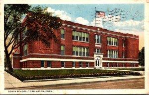 Connecticut Torrington South School 1917 Curteich
