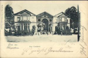 Gruss Aus Mergentheim Germany c1900 Postcard