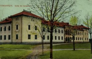 romania, TARGOVISTE TĂRGOVIȘTE, Scola de Cavalerie (1911)