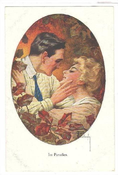 Painting, Im Paradies, Romantic Couple, 00-10s