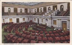Senate Chamber U S Capitol Washingon D C
