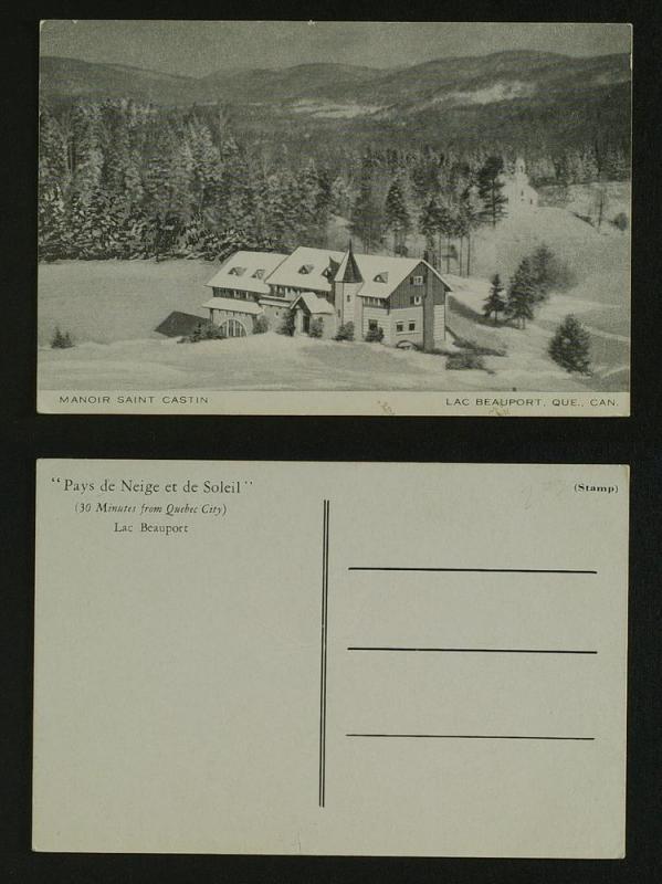 Manor Saint Castin Lac beauport Que