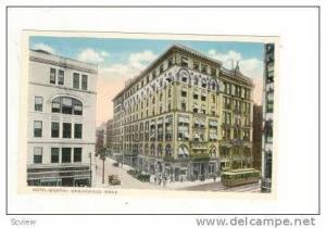 Hotel Worthy, Springfield, Massachusetts, 1910-20s