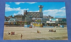 Vintage Postcard Golden Sands Great Yarmouth   Norfolk B1D