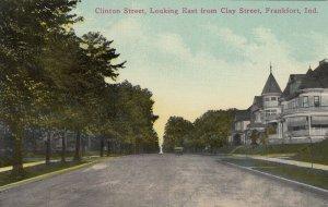 FRANKFORT , Indiana, 1900-10s ; Clinton Street