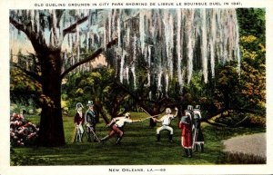 Louisiana New Orleans City Park Old Dueling Grounds