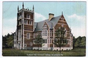 Brunswick, Me, Hubbard Hall, Bowdoin College