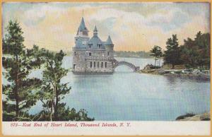 Thousand Islands, New York, East End of Heart Island -