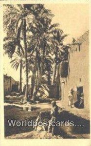 Une Rue Dans I'Oasis Alger Algeria, Africa, Unused