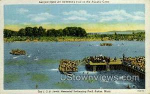 The J.C.B. Smith Memorial Pool Salem MA Unused