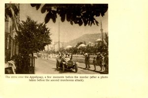 Bosnia - Sarajevo. June 28, 1914. Archduke Ferdinand's Fatal Ride, Appelquay