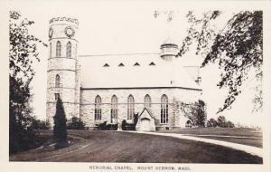 RP: Memorial Chapel , MOUNT HERMON , Massachusetts , 1910-20s