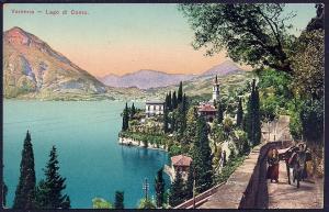 Varenna Lake Como Lombardy Italy unused c1910's