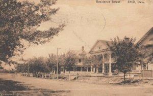 ENID , Oklahoma , 1910 ; Residence Street
