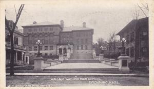 FITCHBURG , Massachusetts ,  Wallace Way & High School ; 1901-07