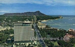 Top of Waikiki, Diamond Head Waikiki HI Writing On Back