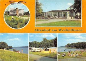 Altenhof am Werbellinsee Campingplatz Suesser Winkel, Badestelle Suesser Winkel