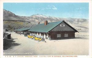 6869  MT  Gardiner   Yellowstone Park N.P. Railroad Station