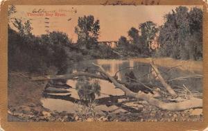 USA Thunder Bay River Bridge Pont 1909