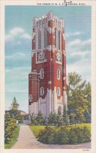 The Tower At M S C Lansing Michigan 1946