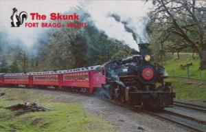 Trains The Super Skunk Fort Bragg To Willits California