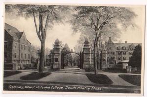 Gateway, Mt Holyoke College, South Hadley, Mass