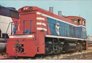 Belt Railway Of Chicago EMD MP15 Locomotive Number 534 On Display 31 July 1975