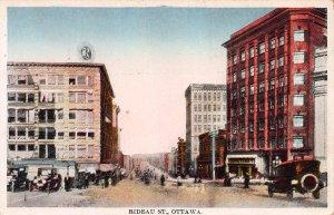 Rideau Street, Ottawa, Ontario, Canada, Early Postcard, Unused