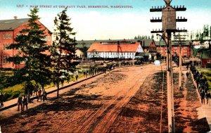 Washington Bremerton Main Street At The Navy Yard