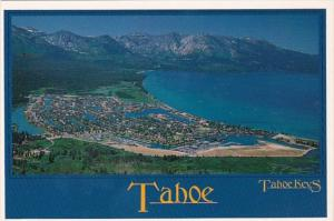 California South Lake Tahoe Aerial View Tahoe Keys