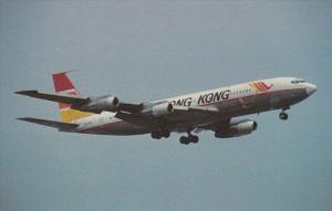 Air Hong Kong Boeing B-707-336C At Kai Tak Airport Hong Kong